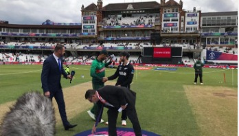 Bangladesh batting as New Zealand win toss