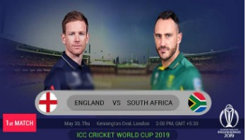 England take on South Africa in WC opener