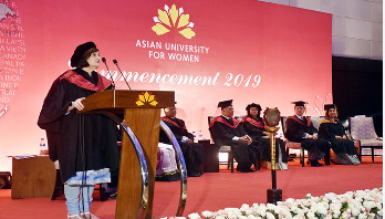 AUW hosts its 7th commencement ceremony