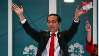 Joko Widodo re-elected as Indonesia president