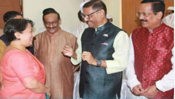 Quader exchanges Eid greetings with diplomats, leaders