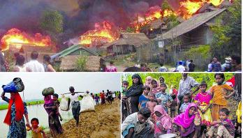 রোহিঙ্গা নির্যাতনের বিচারে মিয়ানমারে কোর্ট মার্শাল