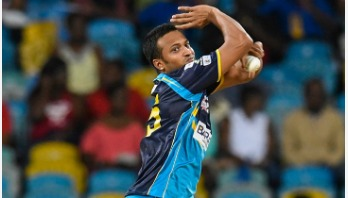 Shakib's Barbados bag second CPL title