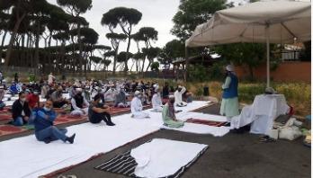 ইতালিতে ঈদুল ফিতর উদযাপন