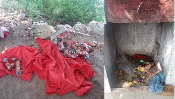 রাঙামাটিতে মন্দিরে চুরি-ভাঙচুর