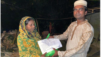 চৌহাট সোস্যাল ওয়েলফেয়ারের ঈদ উপহার পেলেন দুঃস্থরা