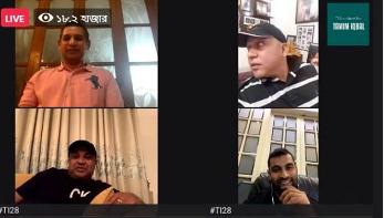 সাবেক তিন ক্রিকেটারকে নিয়ে লাইভ আড্ডায় তামিম ইকবাল