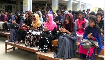 বশেমুরবিপ্রবি শিক্ষার্থীদের আন্দোলন শিথিল