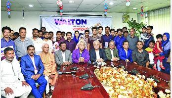 বাংলাদেশ প্রতিদিন-ওয়ালটন কুইজ বিজয়ীরা পুরস্কার পেলেন