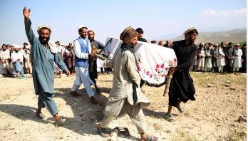 আফগানিস্তানে এক বছরে ৭৪২৩ বোমা হামলা