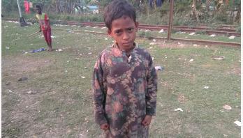 মরণ নেশায় আসক্ত ৭ বছরের রুবেল