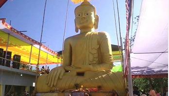 বান্দরবানের সবচেয়ে উঁচু বুদ্ধমূর্তি 'জীনামেজু রাজামুনি'