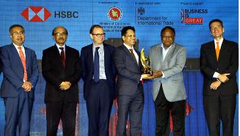 Walton gets HSBC Business Excellence Award