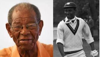 ওয়েস্ট ইন্ডিজের ক্রিকেটের জনক, কিংবদন্তি এভারটন উইকসের মৃত্যু