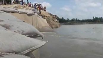 গাইবান্ধায় ব্যাপক নদী ভাঙনের আশঙ্কা