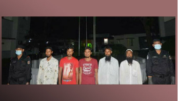 ময়মনসিংহে জেএমবি'র ৫ সদস্য আটক