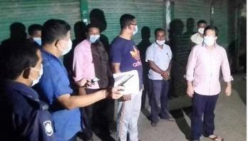 লক্ষ্মীপুরে সরকারি চাল মজুদ সন্দেহে আড়ৎ সিলগালা