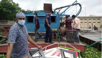 অবৈধভাবে বালু তোলার দায়ে পাবনায় ৩ জনের কারাদণ্ড