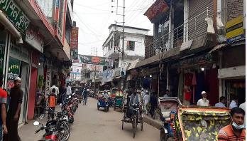 করোনা সংক্রমণরোধে বোরহানউদ্দিনে 'হাট' বন্ধ