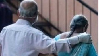 ভারতে ৯৩ বছরের বৃদ্ধের করোনা যুদ্ধে জয়