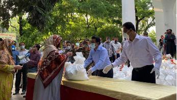 ৫০ হাজার দরিদ্রকে মাসব্যাপী খাবার দেওয়া শুরু ঢাকা দক্ষিণ সিটিতে