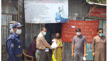 সুনামগঞ্জে ১০ টাকা কেজি দরে চাল বিক্রি শুরু